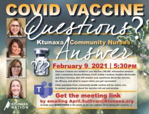 Covid Vaccine Info Session