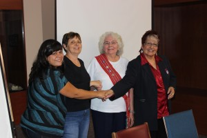 (l to r) Codie Morigeau, Debbie Whitehead, Marilynn Taylor, Annette Maurice